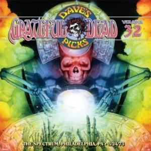 GRATEFUL DEAD - Dave's Picks Volume 32: The Spectrum, Philadelphia, PA, 3/24/1973 (2019) cover