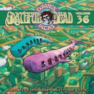 GRATEFUL DEAD - Dave's Picks Volume 36: Hartford Civic Center, Hartford CT cover