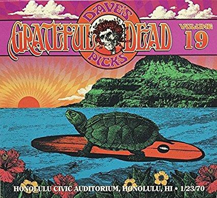 GRATEFUL DEAD - Dave's Picks Volume 19: Honolulu Civic Auditorium, Honolulu, HI 1/ 23/ 70 cover
