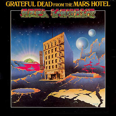 GRATEFUL DEAD - From The Mars Hotel cover