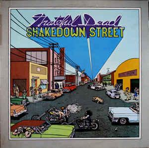 GRATEFUL DEAD - Shakedown Street cover