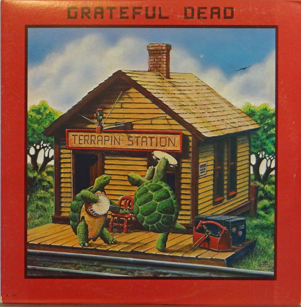 GRATEFUL DEAD - Terrapin Station cover