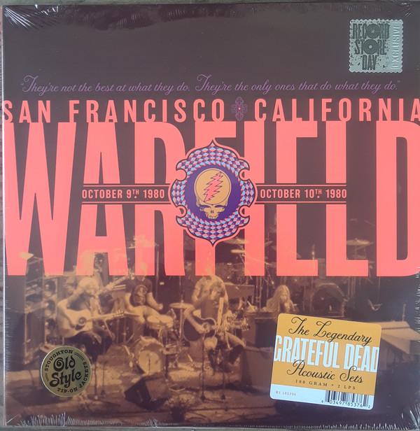 GRATEFUL DEAD - The Warfield, San Francisco, CA 10/9/80 & 10/10/80 cover