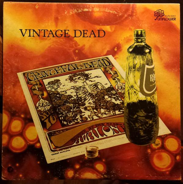 GRATEFUL DEAD - Vintage Dead cover