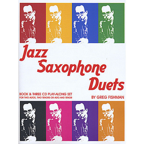 GREG FISHMAN - Jazz Saxophone Duets cover