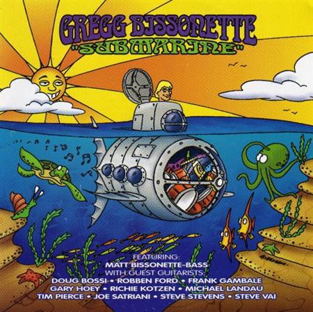 GREGG BISSONETTE - Submarine cover