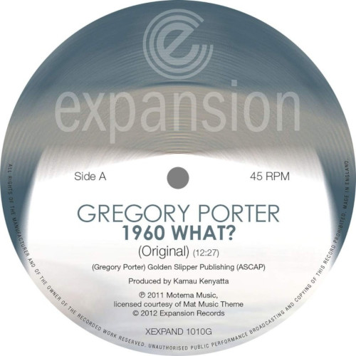 GREGORY PORTER - 1960 What Original / Opolopo Remix cover