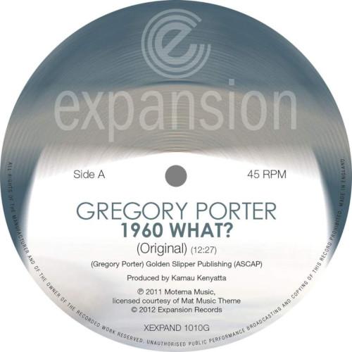 GREGORY PORTER - 1960 What Original / Opolopo Remix cover