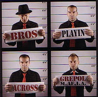 GREPOL M.AF.I.A - Bros Playin Across cover