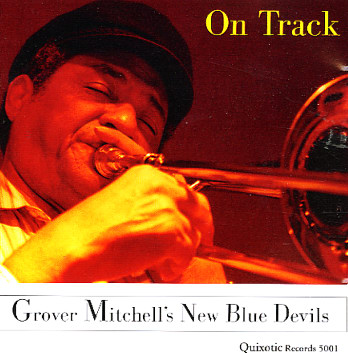 GROVER MITCHELL - Grover Mitchell's New Blue Devils : On Track cover