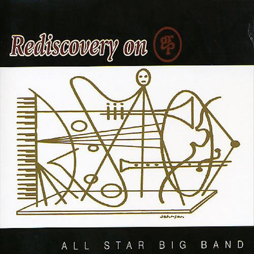 GRP ALL-STAR BIG BAND - Rediscovery on GRP cover