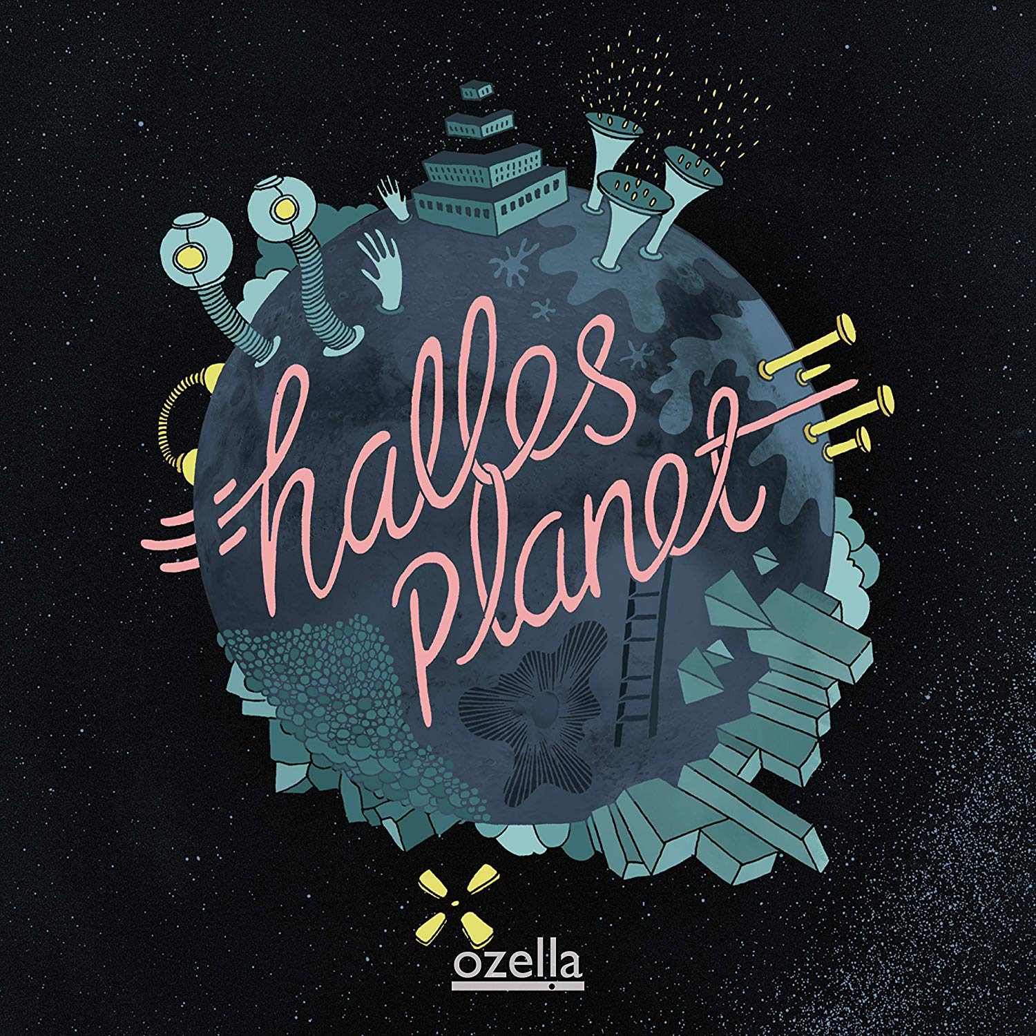 GUNNAR HALLE - Halle's Planet cover