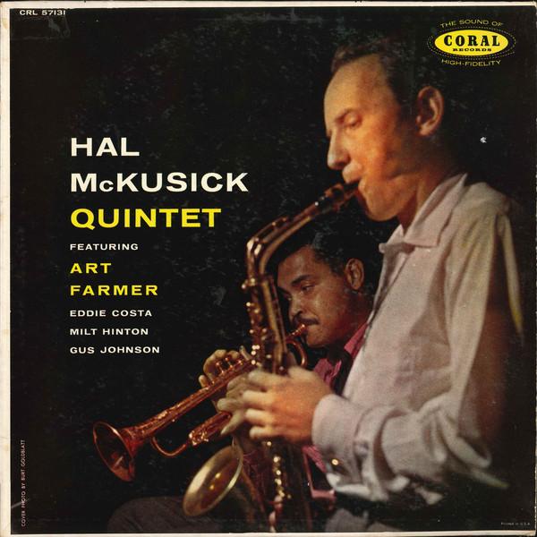 HAL MCKUSICK - Featuring Art Farmer cover