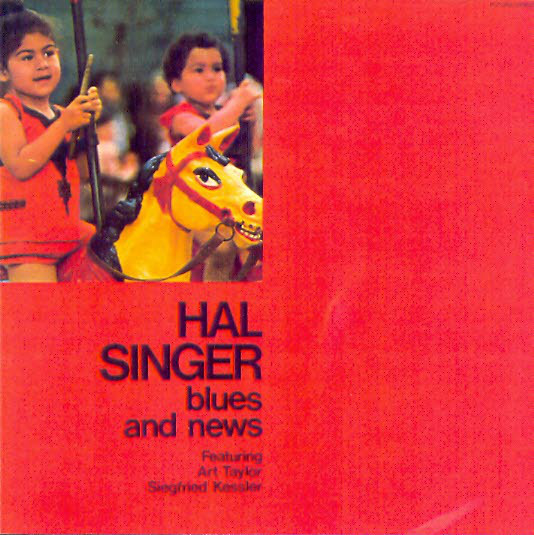 HAL SINGER - Blues And News cover