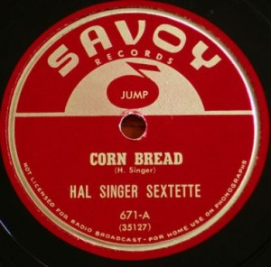 HAL SINGER - Corn Bread / Plug for Cliff cover