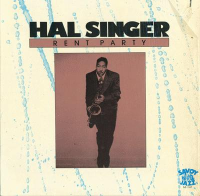 HAL SINGER - Rent Party cover