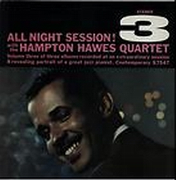 HAMPTON HAWES - All Night Session!, Volume 3 cover
