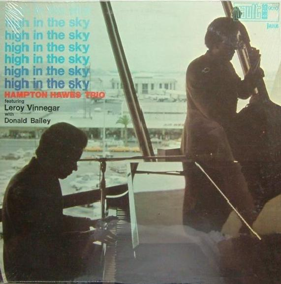 HAMPTON HAWES - High in the Sky cover