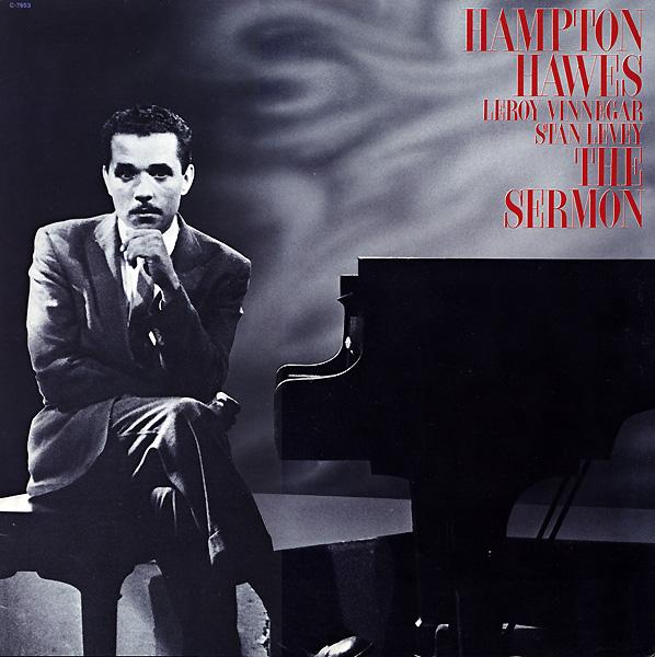 HAMPTON HAWES - The Sermon cover