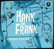 HANK JONES - Hank Jones with Frank Wess : Hank and Frank cover