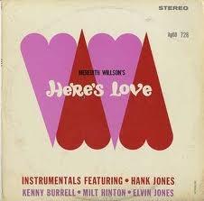 HANK JONES - Here's Love cover