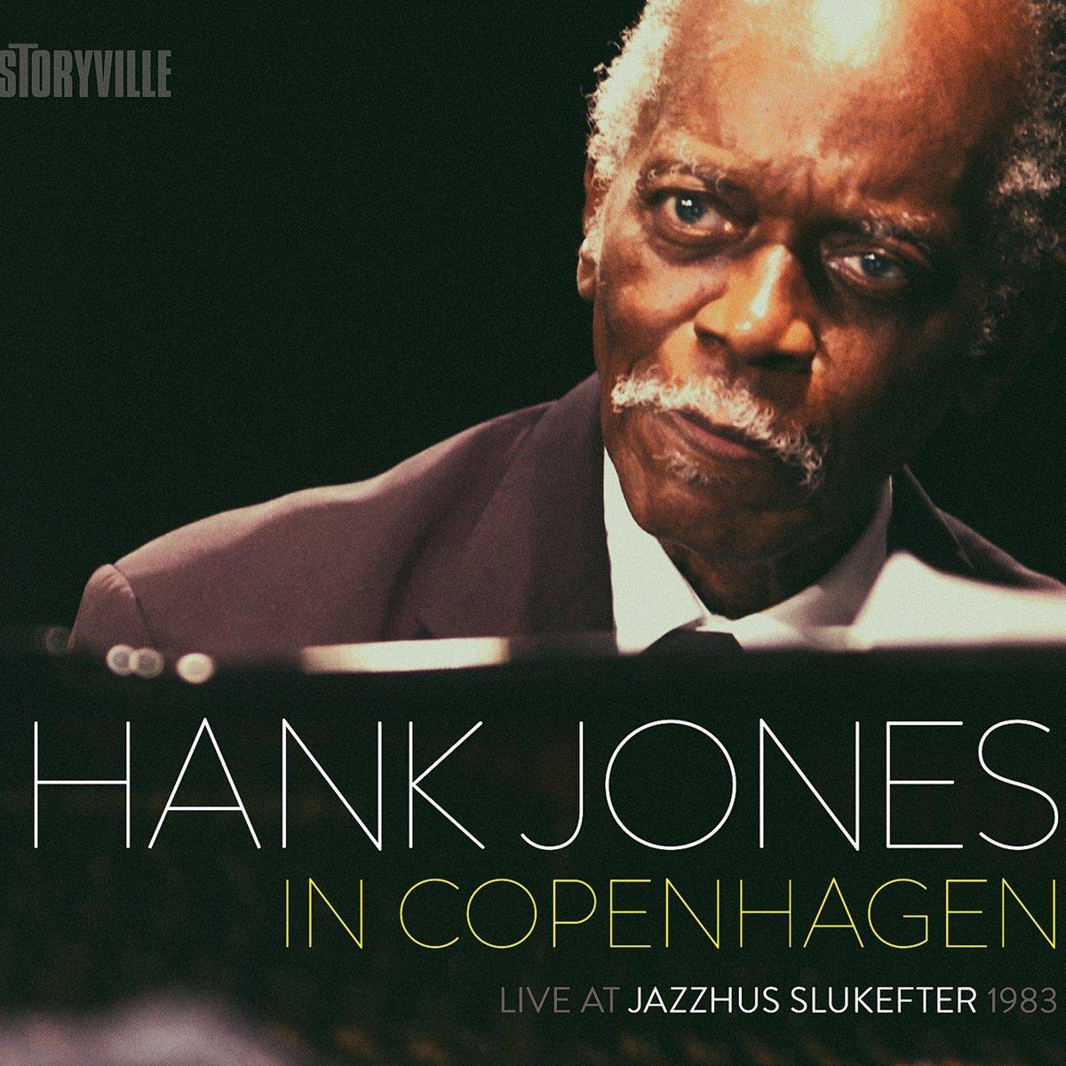 HANK JONES - In Copenhagen : Live At Jazzhus Slukefter 1983 cover