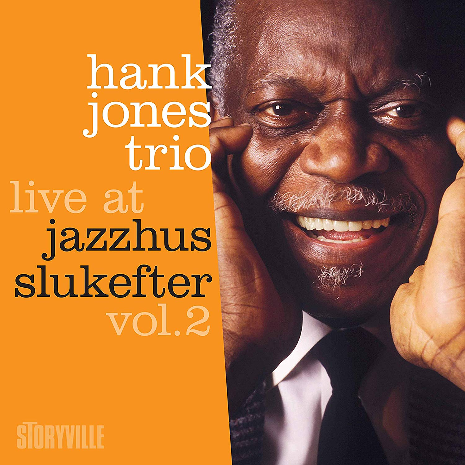 HANK JONES - Live at Jazzhus Slukefter vol.2 cover