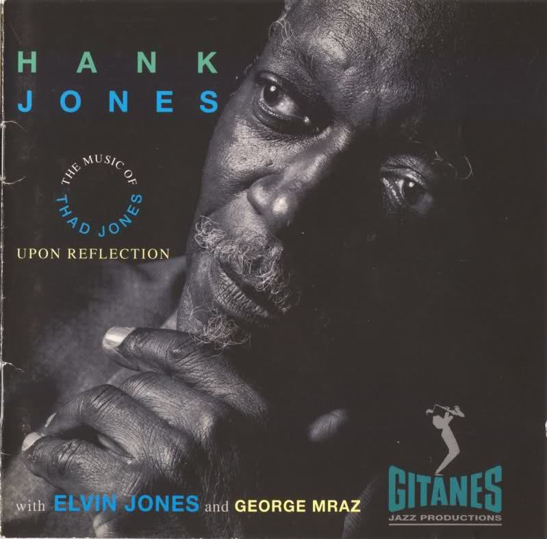 HANK JONES - Upon Reflection: The Music of Thad Jones cover
