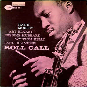 HANK MOBLEY - Roll Call cover