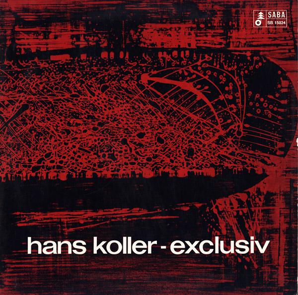 HANS KOLLER (SAXOPHONE) - Exclusiv cover