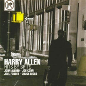 HARRY ALLEN - Hits By Brits cover