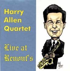 HARRY ALLEN - Live at Renouf's cover