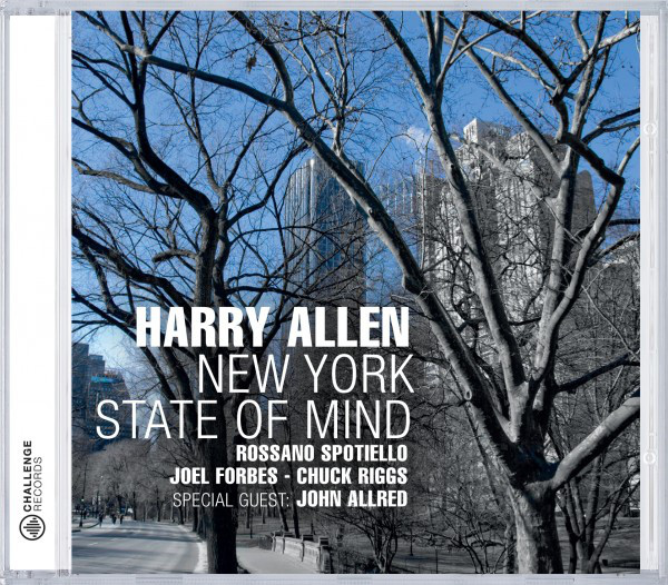 HARRY ALLEN - New York State Of Mind cover