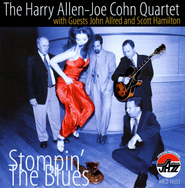 HARRY ALLEN - Stompin the Blues cover