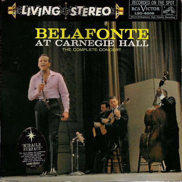 Harry Belafonte Mama Look A Boo-Boo / Day-O
