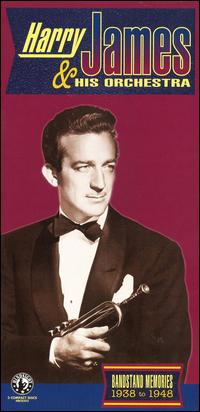 HARRY JAMES - Bandstand Memories 1938 to 1948,vol.3 cover