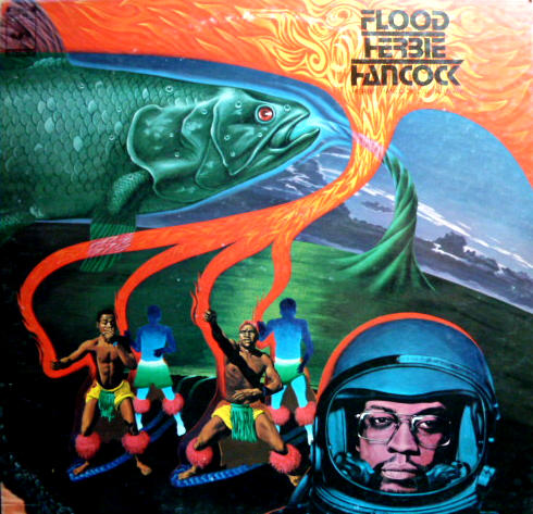 HERBIE HANCOCK - Flood cover