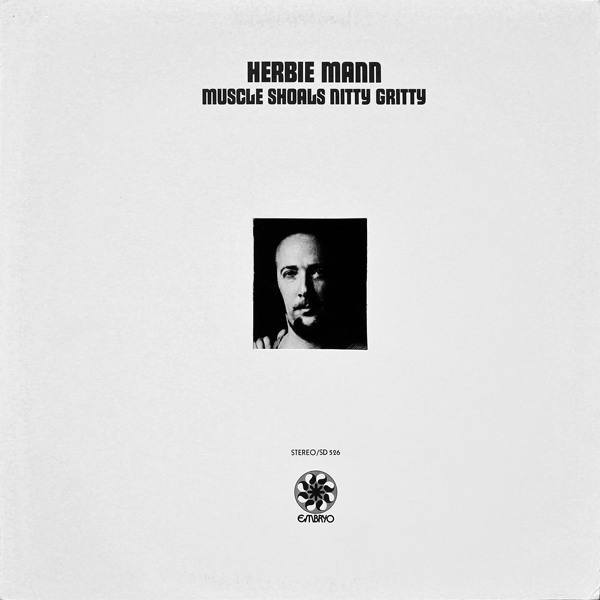 HERBIE MANN - Muscle Shoals Nitty Gritty cover