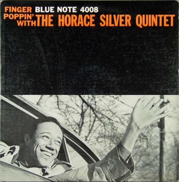 HORACE SILVER - Finger Poppin' cover