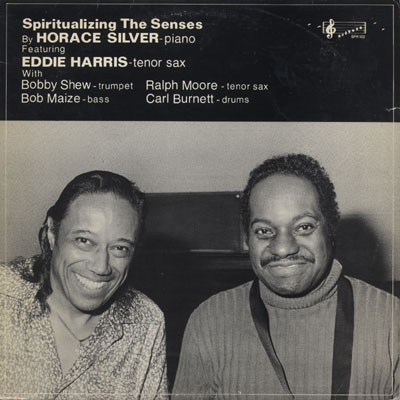 HORACE SILVER - Spiritualizing The Senses cover