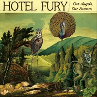HOTEL FURY - Our Angels, Our Demons cover