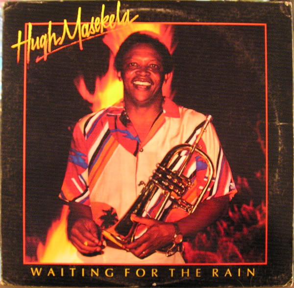 HUGH MASEKELA - Waiting For The Rain cover