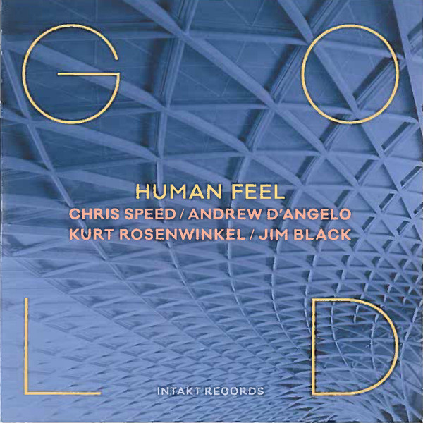 HUMAN FEEL - Gold cover