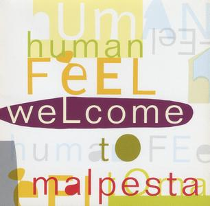 HUMAN FEEL - Welcome to Malpesta cover