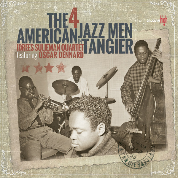 IDREES SULIEMAN - 4 American Jazz Men In Tangier cover