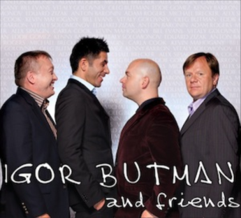 IGOR BUTMAN - Igor Butman and Friends cover