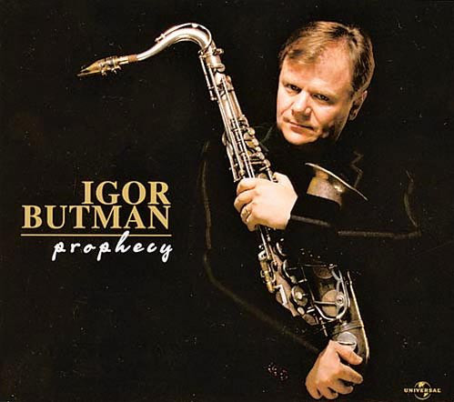 IGOR BUTMAN - Prophecy cover
