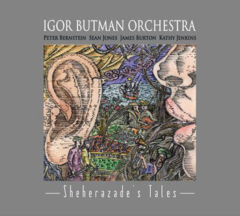 IGOR BUTMAN - Sheherazade's Tales cover