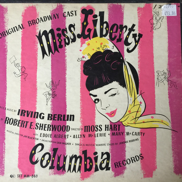 IRVING BERLIN - Miss Liberty (Original Broadway Cast) cover