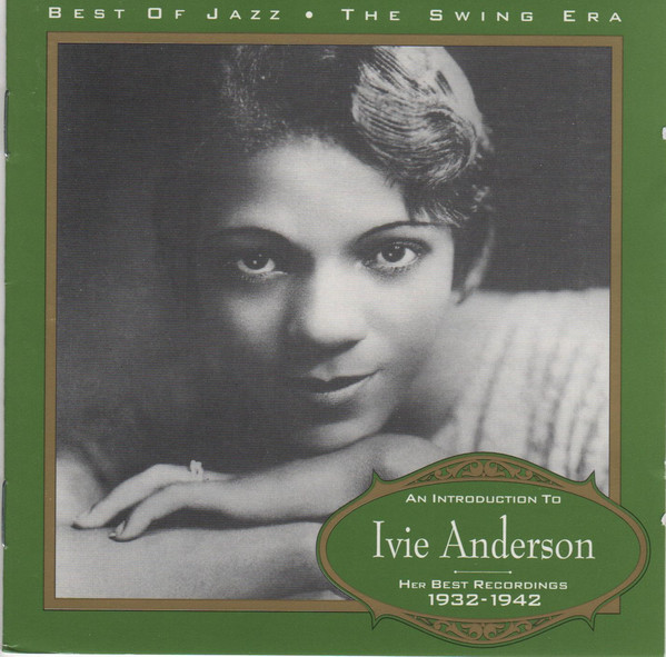 IVIE ANDERSON - An Introduction To Ivie Anderson : Her Best Recordings 1932-1942 cover